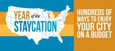 Year of the Staycation--Frugal Family Ideas in 90+ Cities (www.walkinginhighcotton.net}